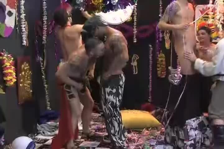 Suruba Gay de Carnaval