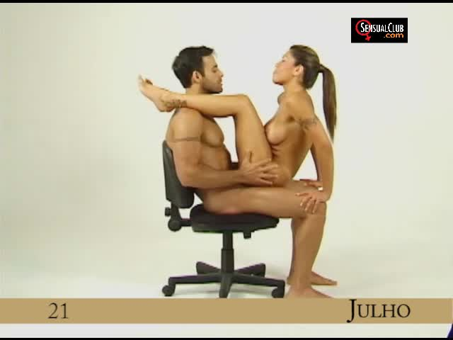 Position - July 21 - on a chair