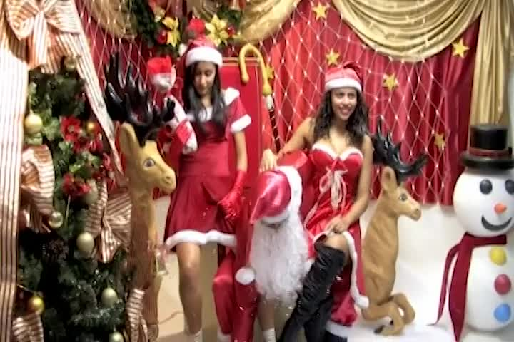 Santa Claus & Girls